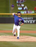Yu Darvish - Chicago Cubs 2020 spring training (Bill Mitchell)