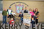 Tony O'Halloran, Billy O'Connor, Ethan Fitzgerald, Lauren O'Sullivan, Dylan O'Sullivan, Mickey O'Sullivan, Paudie O'Sullivan, Sharon O'Sullivan, Anita Bodenham, Marcus Fitzgerald, Betty Stack, Tiernan O'Sullivan, Sarah Bodenham launch the Ardfert Harvest Cycle to raise funds for Ardfert National School at 10am Saturday 13th September