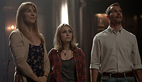 AnnaSophia Robb, Rosie Day &amp; Taylor Russell<br /> in Down a Dark Hall (2018) <br /> *Filmstill - Editorial Use Only*<br /> CAP/RFS<br /> Image supplied by Capital Pictures