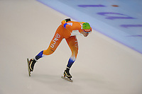 SCHAATSEN: HEERENVEEN: IJsstadion Thialf, 06-10-2012, Trainingswedstrijd, KNSB Jong Oranje, Thijs Roozen, ©foto Martin de Jong