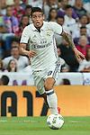 Real Madrid's James Rodriguez during the XXXVII Bernabeu trophy between Real Madrid and Stade de Reims at the Santiago Bernabeu Stadium. August 15, 2016. (ALTERPHOTOS/Rodrigo Jimenez)