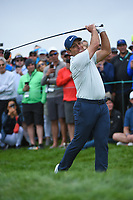 Francesco Molinari (ITA) watches his tee shot on 9 during round 1 of the 2019 US Open, Pebble Beach Golf Links, Monterrey, California, USA. 6/13/2019.<br /> Picture: Golffile | Ken Murray<br /> <br /> All photo usage must carry mandatory copyright credit (© Golffile | Ken Murray)