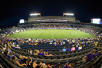 Orlando, FL - Saturday July 16, 2016: Camping World Stadium during a regular season National Women's Soccer League (NWSL) match between the Orlando Pride and the Chicago Red Stars at Camping World Stadium.