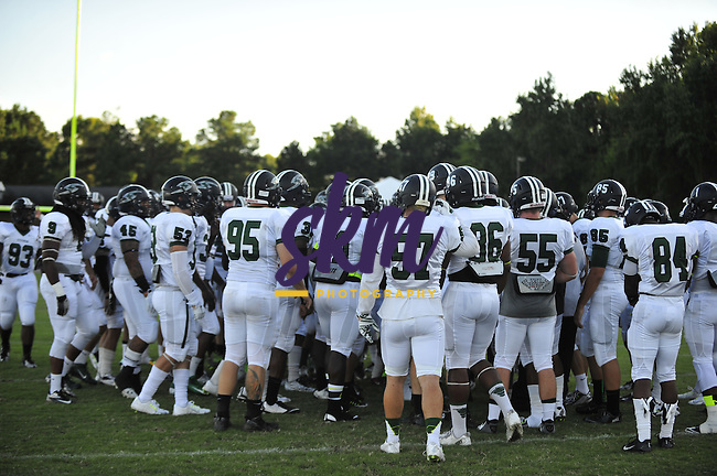 Stevenson University football team travelled to Rocky Mount to take on the Battling Bishops of North Carolina Wesleyan College in the first game of the season where the Mustangs came away with an easy 40-19 victory.
