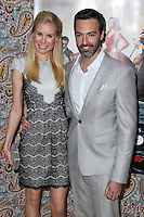 "HOLLYWOOD, LOS ANGELES, CA, USA - MARCH 24: Elspeth Keller, Reid Scott at the Los Angeles Premiere Of HBO's ""Veep"" 3rd Season held at Paramount Studios on March 24, 2014 in Hollywood, Los Angeles, California, United States. (Photo by Xavier Collin/Celebrity Monitor)"
