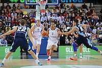 GB's Devan Bailey on the attack during the EuroBasket 2015 2nd Qualifying Round Great Britain v Bosnia & Herzegovina (Euro Basket 2nd Qualifying Round) at Copper Box Arena in London. - 13/08/2014
