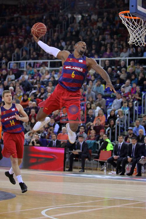 League ACB-ENDESA 2016/2017 - Game: 16.<br /> FC Barcelona Lassa vs Rio Natura Monbus Obradoiro: 100-76.<br /> Joey Dorsey.