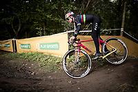 U23 World Champion Tom Pidcock (GBR) during course recon<br /> <br /> Elite & U23 Mens Race<br /> 42nd Superprestige cyclocross Gavere 2019<br /> <br /> ©kramon