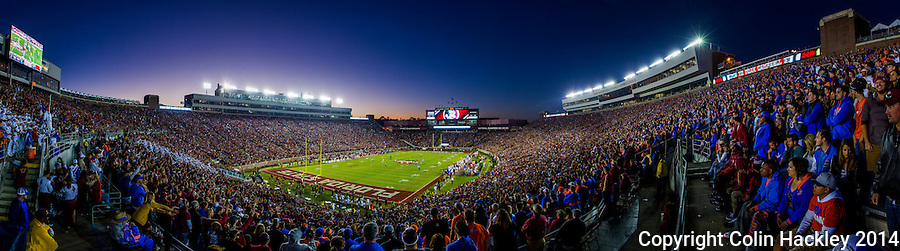 TALLAHASSEE, FL 11/29/14 FSU-UF112914-Doak Campbell Stadium during the second half of the Florida State University vs. University of Florida football game Nov. 29, 2014 in Tallahassee. The Seminoles beat the Gators 24-19.<br />