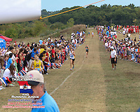 Finish stretch, 2013  Parkway West XC Inv