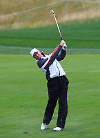 Richard McEvoy (ENG) on the 10th fairway during Round 2 of the D+D Real Czech Masters at the Albatross Golf Resort, Prague, Czech Rep. 01/09/2017<br /> Picture: Golffile | Thos Caffrey<br /> <br /> <br /> All photo usage must carry mandatory copyright credit     (&copy; Golffile | Thos Caffrey)