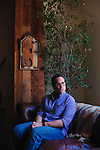 Jason Patric poses for a portrait at 41 Ocean Club in Santa Monica, California April 30, 2014. He is currently fighting for parental rights for sperm donors.