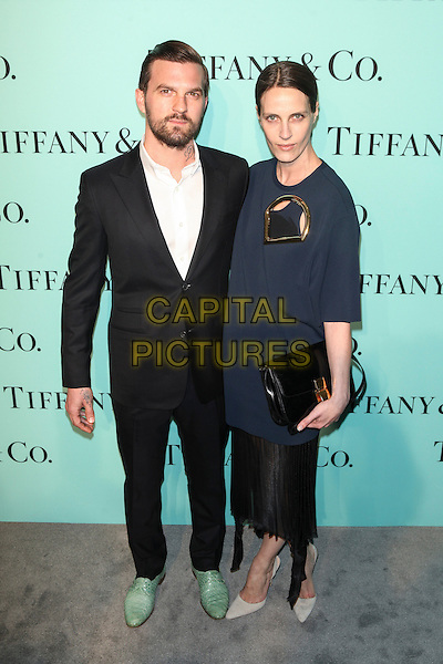 NEW YORK, NY - APRIL 10: Max Snow and Vanessa Traina attend the Tiffany Debut of the 2014 Blue Book on April 10, 2014 at the Guggenheim Museum in New York City. <br /> CAP/MPI/COR<br /> &copy;Corredor99/ MediaPunch/Capital Pictures
