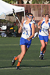 Santa Barbara, CA 02/18/12 - Samantha Wilson (UCSB #11) in action during the UCSB-Washington matchup at the 2012 Santa Barbara Shootout.  UCSB defeated Washington
