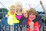 5885-5888.---------.Girls aloud.-----------.Having a laugh at the Castlegregory summer festival parade last Sunday were L-R Sean Lynch,Maura Moriarty,Rose Smith and Dinny Cronin