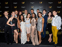 LAS VEGAS, NV - July 12, 2016: ***HOUSE COVERAGE*** The Cast of BAZ pictured as BAZ  -Star Crossed Love Opening Night arrivals at The Palazzo Theater at The Palazzo Las Vegas in Las vegas, NV on July 12, 2016. Credit: Erik Kabik Photography/ MediaPunch