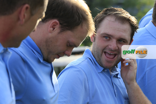 European Team player Andy Sullivan before Pro-Am Day of the 2016 Eurasia Cup held at the Glenmarie Golf &amp; Country Club, Kuala Lumpur, Malaysia. 14th January 2016.<br /> Picture: Eoin Clarke | Golffile<br /> <br /> <br /> <br /> All photos usage must carry mandatory copyright credit (&copy; Golffile | Eoin Clarke)