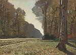 Claude Monet - Le Pave de Chailly (1865). Paris, musee d'Orsay.