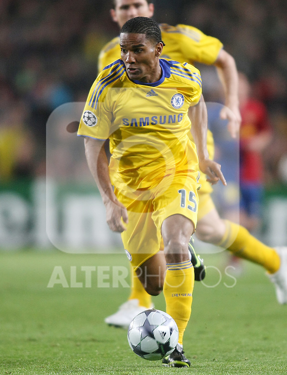 Chelsea's Florent Malouda during the UEFA Champions League match.April 28 2009. (ALTERPHOTOS/Acero).