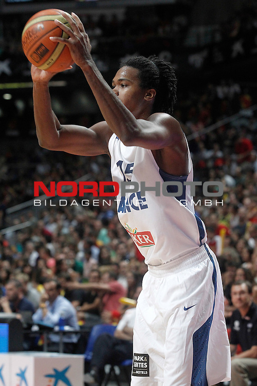 France's Mickael Gelabale during friendly match.August 23,2012. Foto © nph / Acero)