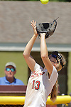 02 June 2017:  Paige Schiffman. Goreville Blackcats v Heyworth Hornets class 1A IHSA Class 1A Softball Semi-Final at Eastside Centre in East Peoria Illinois