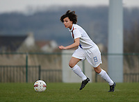 Women U15 : Belgian Red Flames - Nederland :<br /> <br /> Zo&iuml; van de Ven<br /> <br /> foto Dirk Vuylsteke / Nikonpro.be