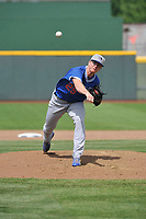 Oklahoma City Dodgers pitcher Josh Sborz (25) throws a pitch against the Omaha Storm Chasers at Werner Park on June 24, 2018 in Omaha, Nebraska. Omaha won 8-0.  (Dennis Hubbard/Four Seam Images)