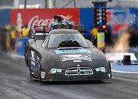 Feb 20, 2015; Chandler, AZ, USA; NHRA funny car driver Shane Westerfield during qualifying for the Carquest Nationals at Wild Horse Pass Motorsports Park. Mandatory Credit: Mark J. Rebilas-