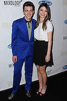 "LOS ANGELES, CA, USA - APRIL 17: Drake Bell, Miranda Cosgrove at the Drake Bell ""Ready Steady Go!"" Album Release Party held at Mixology101 & Planet Dailies on April 17, 2014 in Los Angeles, California, United States. (Photo by Xavier Collin/Celebrity Monitor)"