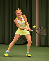 March 13, 2015, Netherlands, Rotterdam, TC Victoria, NOJK, Kimberley van Rijn (NED)<br /> Photo: Tennisimages/Henk Koster