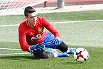 Spain's Kepa Arrizabalaga during training session. March 21,2017.(ALTERPHOTOS/Acero)