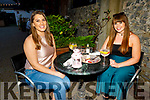 Marie Moriarty and Niamh McEvoy enjoying the evening in Benners Hotel on Saturday.