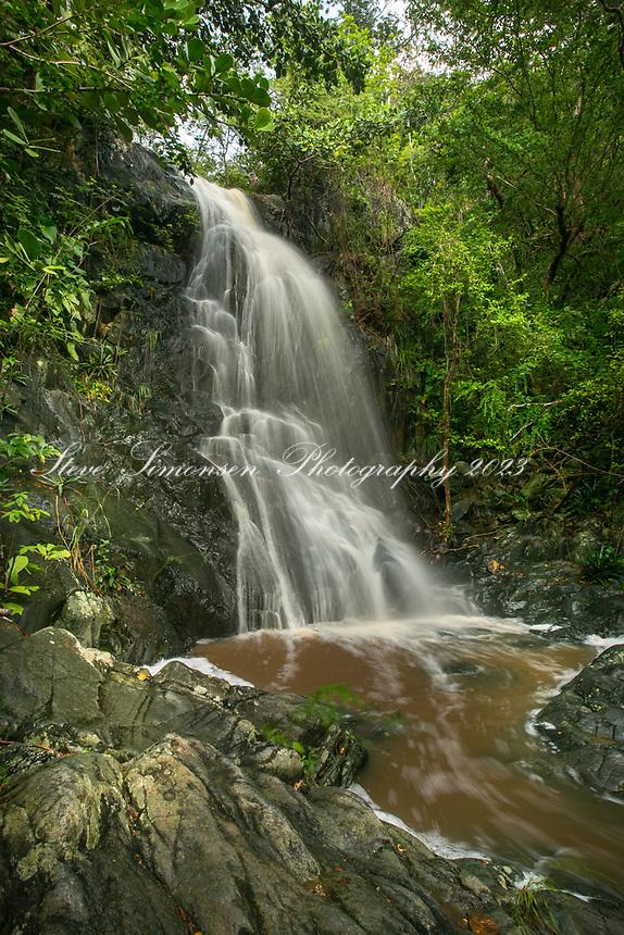 Reef Bay Waterfall<br /> Virgin Islands National Park<br /> St. John<br /> US Virgin Islands