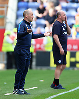 Preston North End manager Alex Neil shouts instructions to his team from the touchline<br /> <br /> Photographer David Shipman/CameraSport<br /> <br /> The EFL Sky Bet Championship - Wigan Athletic v Preston North End - Monday 22nd April 2019 - DW Stadium - Wigan<br /> <br /> World Copyright © 2019 CameraSport. All rights reserved. 43 Linden Ave. Countesthorpe. Leicester. England. LE8 5PG - Tel: +44 (0) 116 277 4147 - admin@camerasport.com - www.camerasport.com