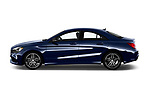 Car Driver side profile view of a 2017 Mercedes Benz CLA CLA 4 Door Sedan Side View