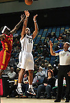 Action from Friday night's Bighorns minor league basketball game, Feb. 11, 2011, against the Fort Wayne Mad Ants at the Reno Events Center in Reno, Nev. .Photo by Cathleen Allison