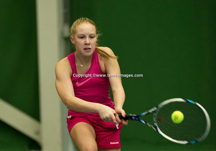 Almere, Netherlands, December 6, 2015, Winter Youth Circuit, Melissa Boyden<br /> Photo: Tennisimages/Henk Koster