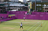 Ambience..Tennis - OLympic Games -Olympic Tennis -  London 2012 -  Wimbledon - AELTC - The All England Club - London - Thursday 2nd August  2012. .© AMN Images, 30, Cleveland Street, London, W1T 4JD.Tel - +44 20 7907 6387.mfrey@advantagemedianet.com.www.amnimages.photoshelter.com.www.advantagemedianet.com.www.tennishead.net
