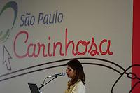 SÃO PAULO. SP. 23.04.2014 SÃO PAULO CARINHOSA  Ana Estela Haddad, durante o Lançamento da Platarforma Digital São Paulo Carinhosa na Galeria das Artes região central da cidade, nesta Quarta-Feira 23. ( Foto: Bruno Ulivieri / Brazil Photo Press )