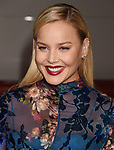 HOLLYWOOD, CA - OCTOBER 16: Actress Abbie Cornish attends the premiere of Warner Bros. Pictures' 'Geostorm' at the TCL Chinese Theatre on October 16, 2017 in Hollywood, California.