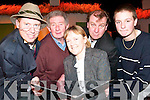 In costume: Emmet Lynch, Robert Stack, Jackie Goodall, John Griffin (snr) and John Griffin (jnr) members of the Tintean Players bringing Troubled Bachelors to the stage of the Tintea?n Theatre on Friday, February 15th and Sunday, February 17th at 8pm.   Copyright Kerry's Eye 2008