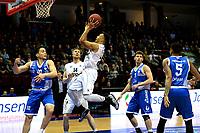 GRONINGEN - Basketbal, Donar - Landstede Zwolle , Martiniplaza,  halve finale beker, seizoen 2017-2018, 13-02-2018,  Donar speler Brandyn Curry op weg naar een score