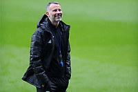 Ryan Giggs   Manager of Wales in action during the Wales Training Session at the Cardiff City Stadium in Cardiff, Wales, UK. Thursday 15 November 2018
