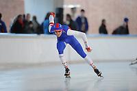 SCHAATSEN: DEVENTER: IJsbaan De Scheg, 27-10-12, IJsselcup, winnaar 1500m Lucas van Alphen, ©foto Martin de Jong