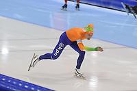 SCHAATSEN: HEERENVEEN: IJsstadion Thialf, 17-11-2012, Essent ISU World Cup, Season 2012-2013, Men 1000 meter Division A, Pim Schipper (NED), ©foto Martin de Jong
