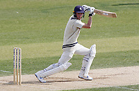 Jordan Cox of Kent hits four runs during Essex CCC vs Kent CCC, Bob Willis Trophy Cricket at The Cloudfm County Ground on 3rd August 2020
