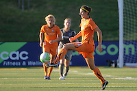 Yael Averbuch (13) of Sky Blue FC. The Philadelphia Independence defeated Sky Blue FC 2-1 during a Women's Professional Soccer (WPS) match at John A. Farrell Stadium in West Chester, PA, on June 6, 2010.
