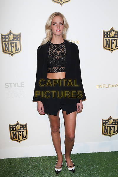 Toronto, Canada - September 24: Erin Heatherton  atttends the Super Bowl 50 Apparel Unveiling at ArtBeam on September 24, 2015 in New York City . <br /> CAP/MPI99<br /> &copy;MPI99/Capital Pictures