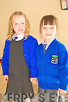 Kilocrim NS Junior Infants: Millie Sheehan & Jessica Heaphy.