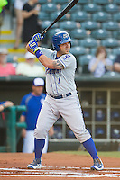 Omaha Storm Chasers catcher Tony Cruz (7) at bat during a game against the Oklahoma City Dodgers at Chickasaw Bricktown Ballpark on June 16, 2016 in Oklahoma City, Oklahoma. Oklahoma City defeated Omaha 5-4  (William Purnell/Four Seam Images)